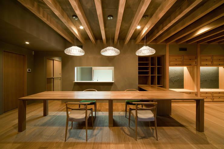 Dining: 一級建築士事務所 Kenso Architectsが手掛けたダイニングルームです。