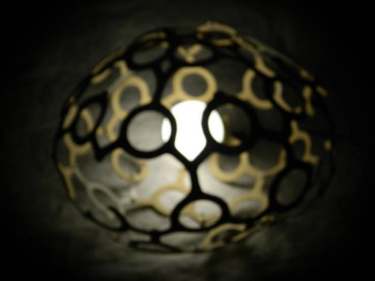 Luminaire MAJAMBOWL: Art de style  par Romain Perrin