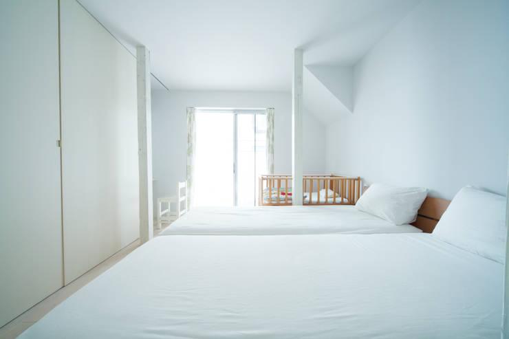白山の家: 一級建築士事務所 こよりが手掛けた家です。,モダン