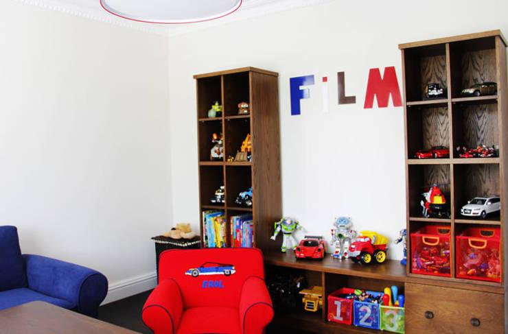 غرفة الاطفال تنفيذ Aykuthall Architectural Interiors