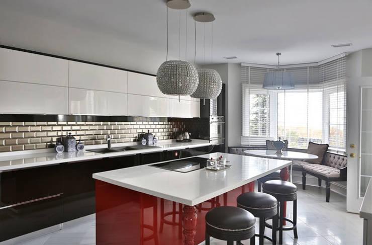 Projekty,  Kuchnia zaprojektowane przez Aykuthall Architectural Interiors
