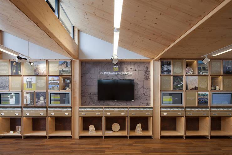 Ralph Allen Yard:   by Hewitt Studios