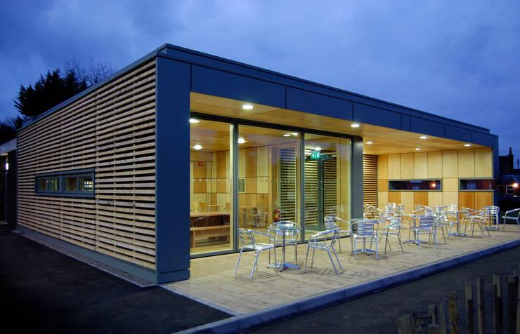 Straw Bale Cafe:   by Hewitt Studios