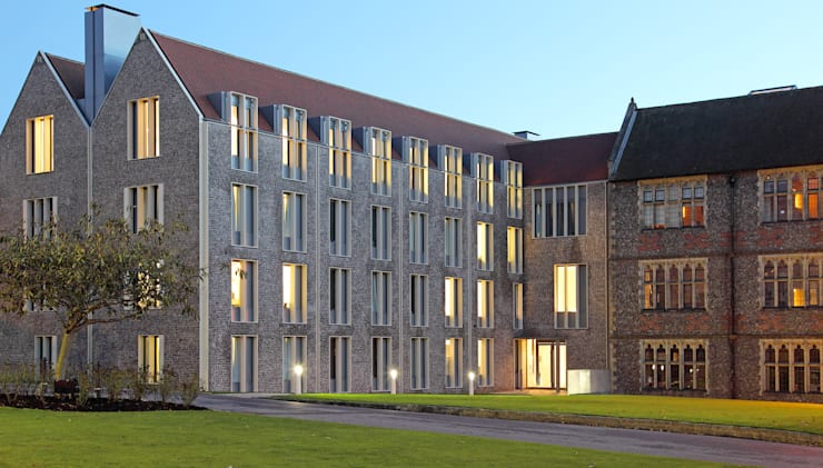 Boarding House, Brighton College:   by Allies & Morrison