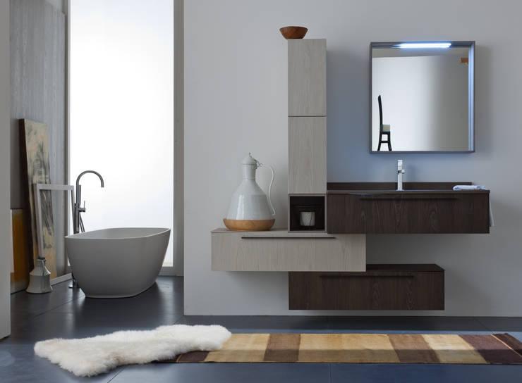 Salle de bain de style  par Graphosds