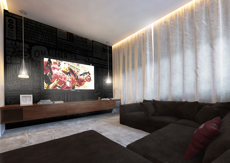 residência | M.A.: Casas  por DÚOZ arquitetos,Moderno