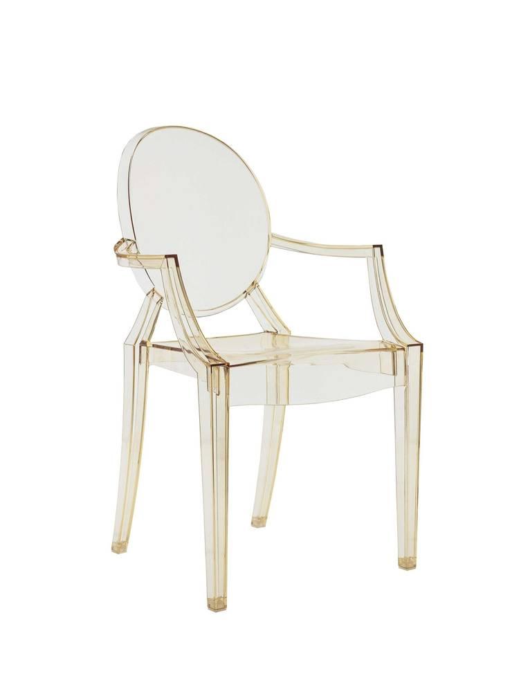 Louis Ghost - Philippe Starck: Soggiorno in stile  di Kartell