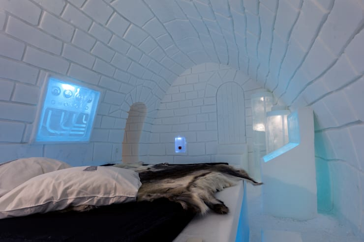 Ice hotel :  Hotels by Pin Pin