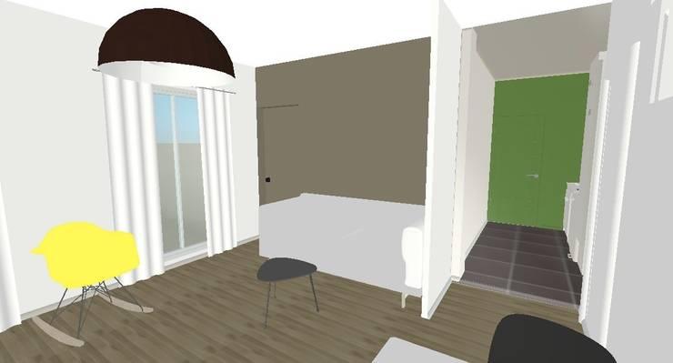Salon Plan 3D :  de style  par Decorexpat