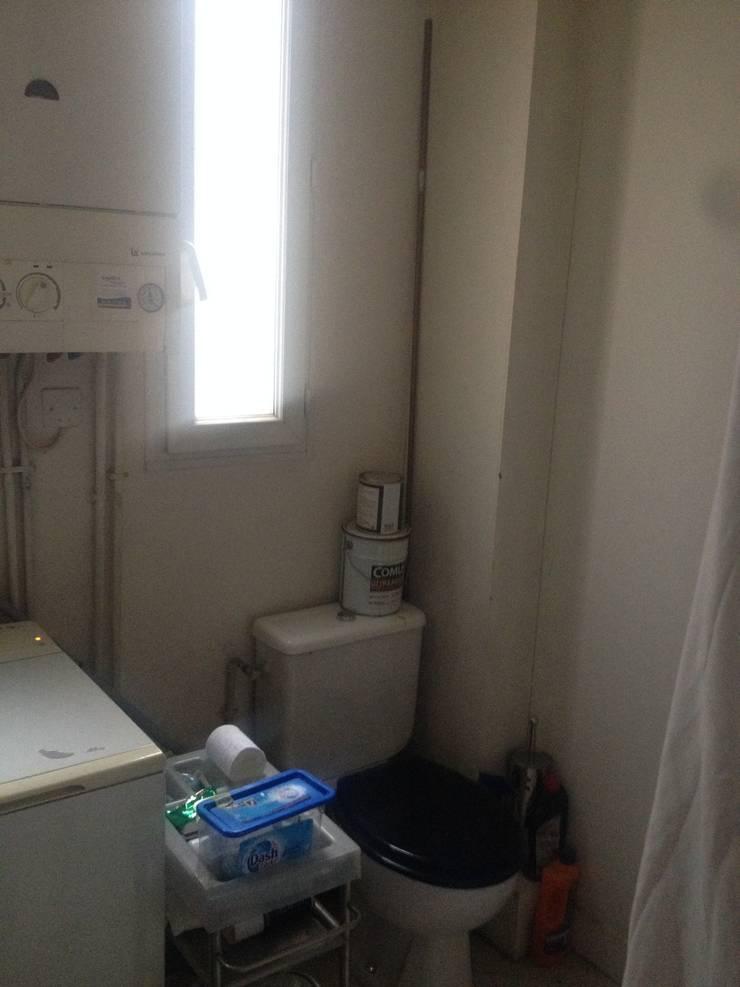 Salle de bain avant:  de style  par Decorexpat
