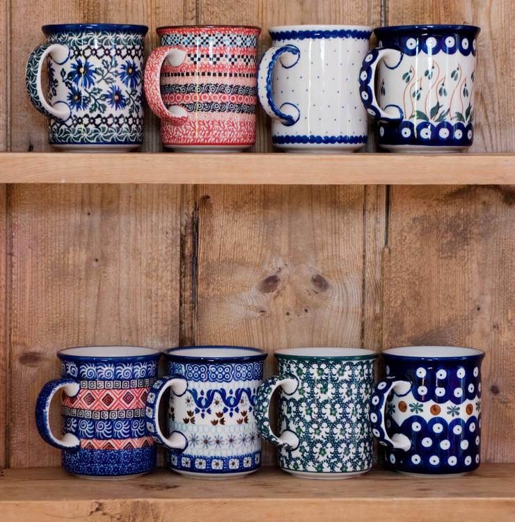 Classic mugs:  Kitchen by Blue Dot Pottery Ltd