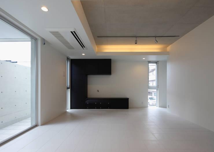 2階リビング: 川島建築事務所が手掛けたです。