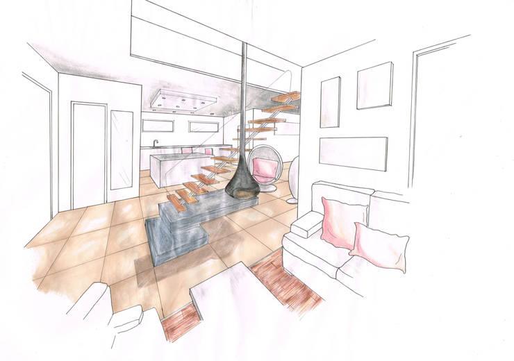 Vue intérieure:  de style  par Urban log/in