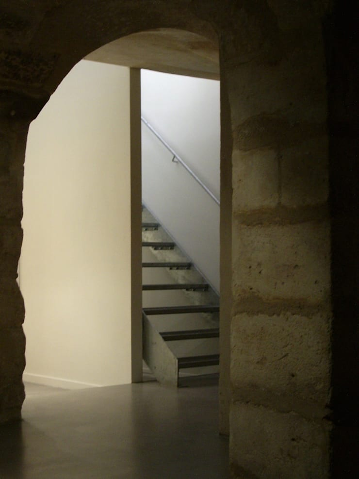 Galerie d'art contemporain:  de style  par Emmanuel CROS architecture
