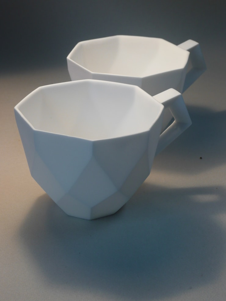 Diamond Cup:  Eetkamer door Winter Ceramics