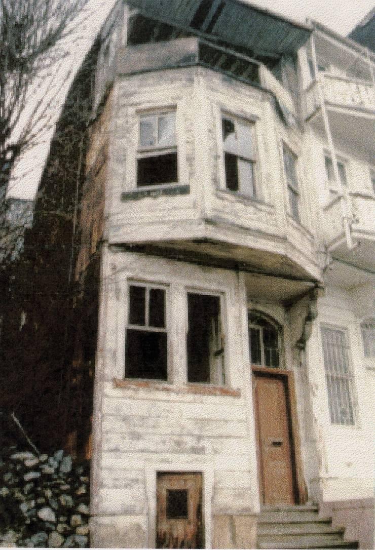 Öztek Mimarlık Restorasyon İnşaat Mühendislik – Türker Evi:  tarz