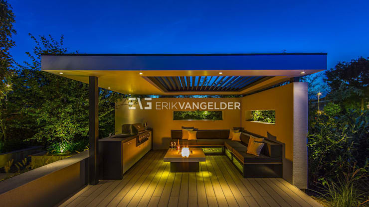 Wellness garden with pool Barendrecht: moderne Tuin door ERIK VAN GELDER | Devoted to Garden Design