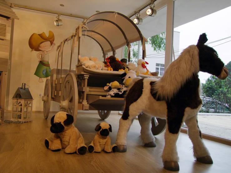 Lacote Design – LACOTE Çiftlik temalı  bebek ve çocuk odası :  tarz Çocuk Odası