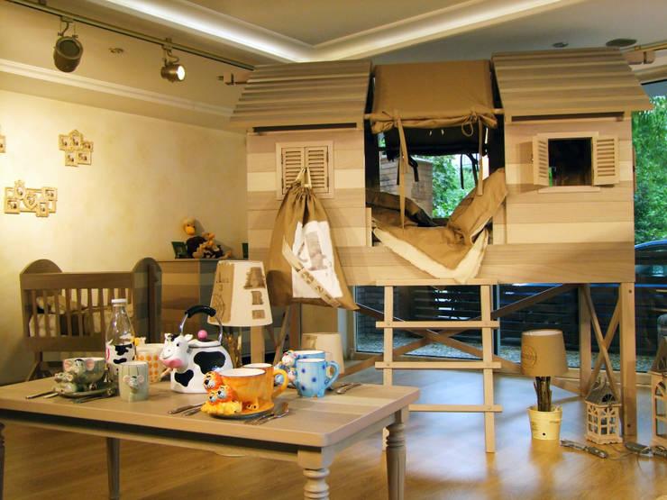 Lacote Design – ranza yatak: modern tarz Çocuk Odası