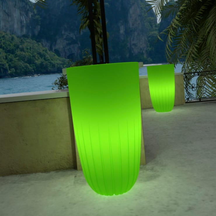 Tera light Collection Five Lime:  in stile industriale di tera-italy, Industrial