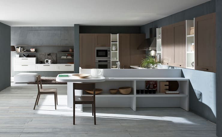COLOMBINI CASA: Cucina in stile  di Graphosds