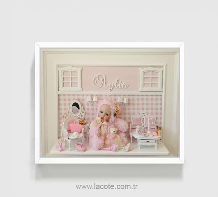 Lacote Design – Lacote bebek odası dekorasyonu minyatür pano kapı süsü aksesuarları :  tarz Çocuk Odası