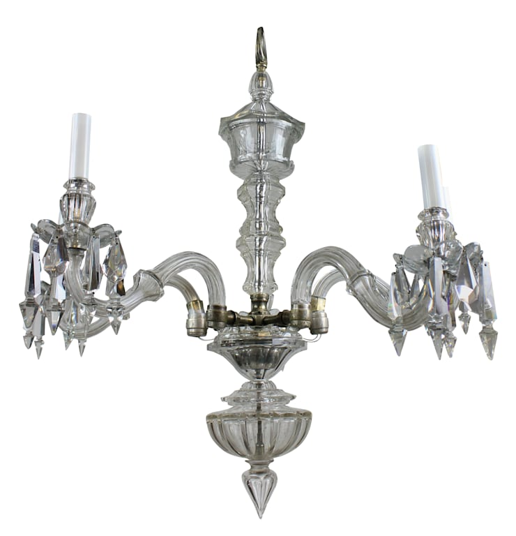 An English Edwardian Chandelier By Osler:  Bedroom by Antiques, Lighting and The Interior