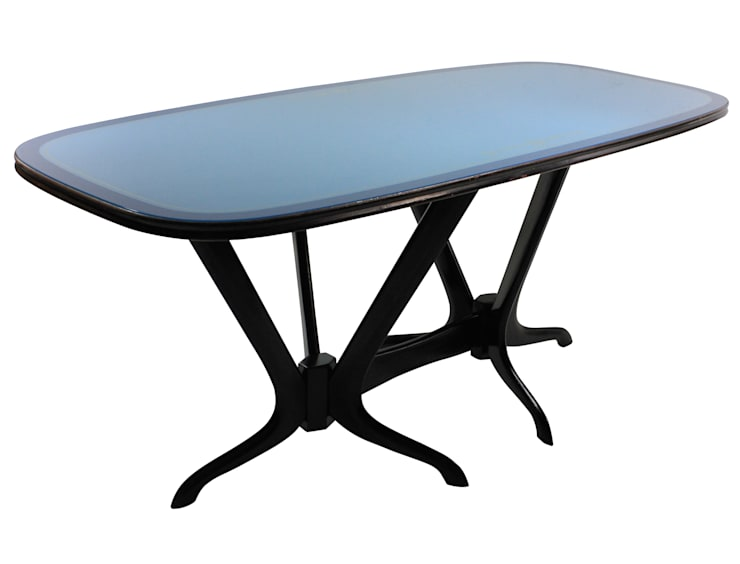 A 50's Italian Sculptural Dining Table:  Dining room by Antiques, Lighting and The Interior
