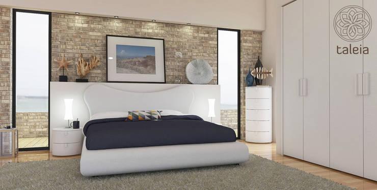 Camera da letto: Camera da letto in stile  di Taleia