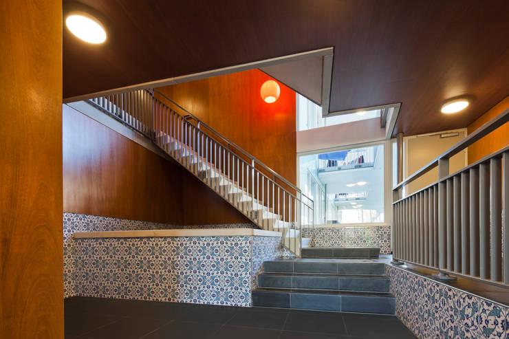 Turkse woongroep Orkide, Rotterdam Oude Noorden:   door Steenhuis Bukman Architecten