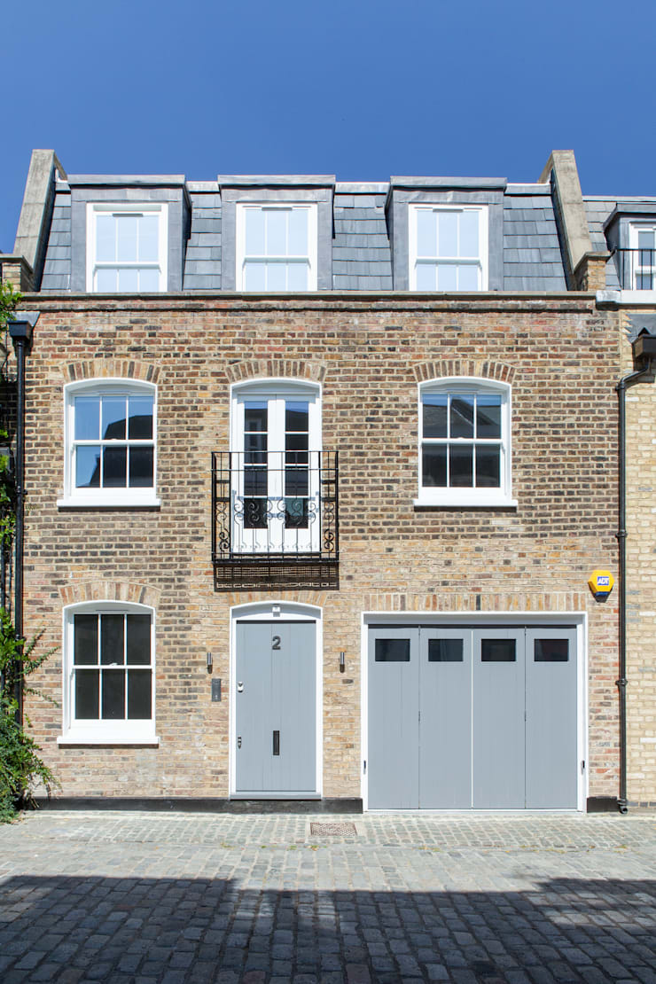 Pindock Mews:  Houses by Lipton Plant Architects