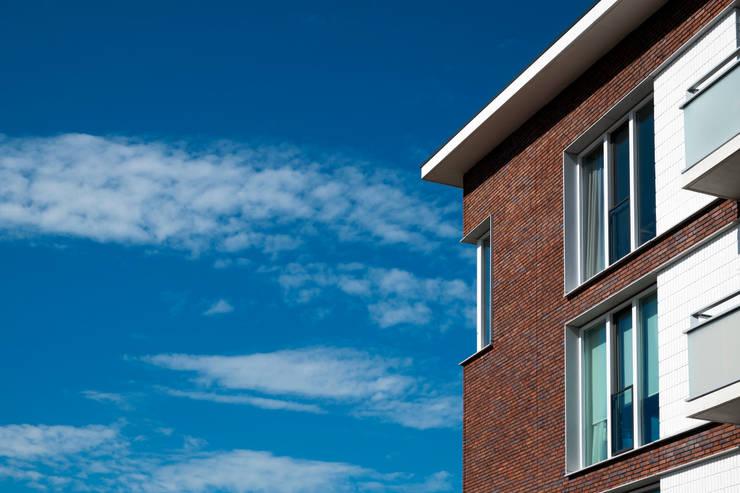 Appartementen Vleuterweide, Leidsche Rijn, Utrecht:   door Steenhuis Bukman Architecten