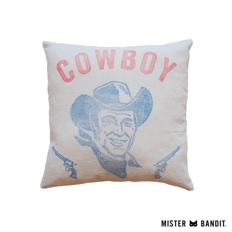 coussin Cowboy: Chambre d'enfants de style  par Mister Bandit