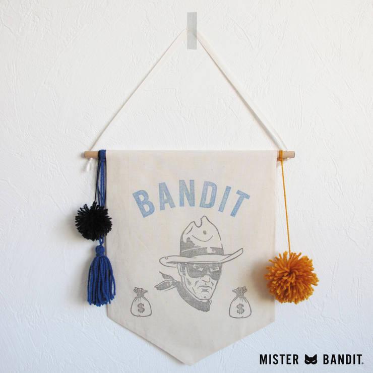 drapeau Bandit: Chambre d'enfants de style  par Mister Bandit