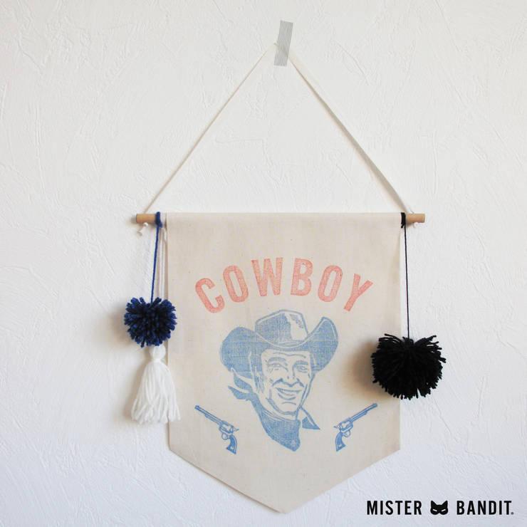 drapeau Cowboy: Chambre d'enfants de style  par Mister Bandit