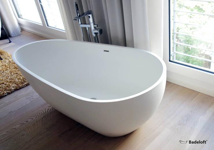 حمام تنفيذ Badeloft GmbH - Hersteller von Badewannen und Waschbecken in Berlin