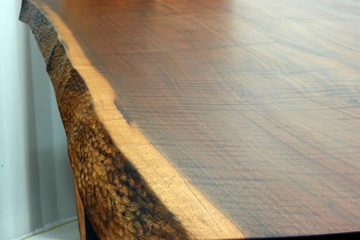 통원목식탁: 가구를 작곡하다의  주방
