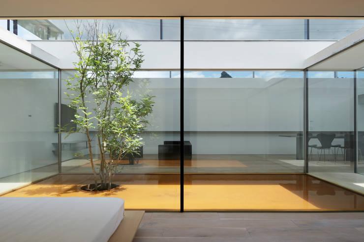 Dormitorios de estilo  por TNdesign一級建築士事務所