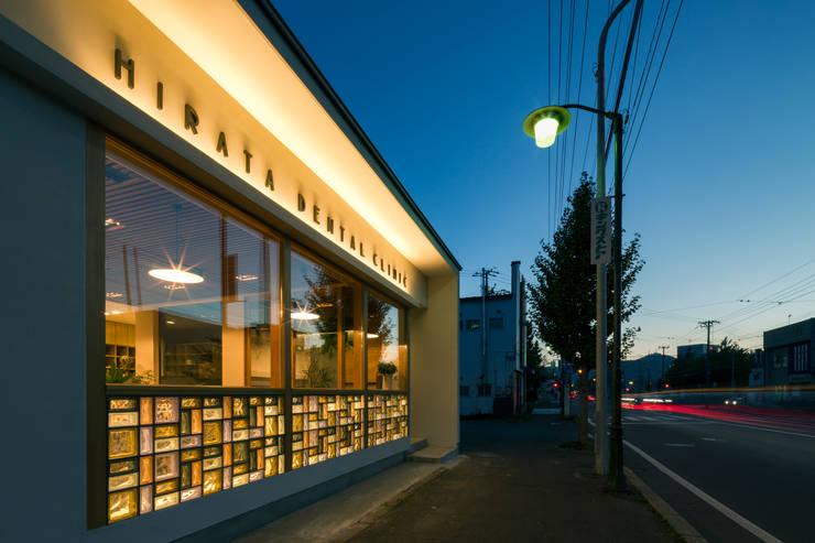ヒカリノデンタルクリニック: 神子島肇建築設計事務所が手掛けたです。,
