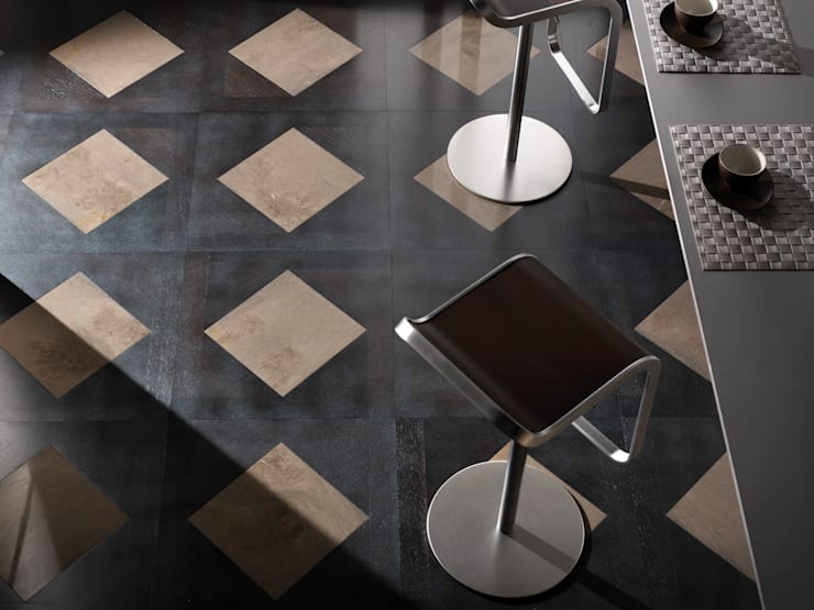 Elegant Collection: Pareti & Pavimenti in stile  di Parquetin,