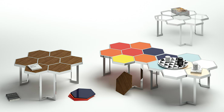 Mesa Honey:  in stile  di Altinox minimal design,