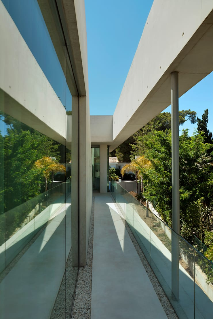 Jellyfish House:  Tuin door Wiel Arets Architects