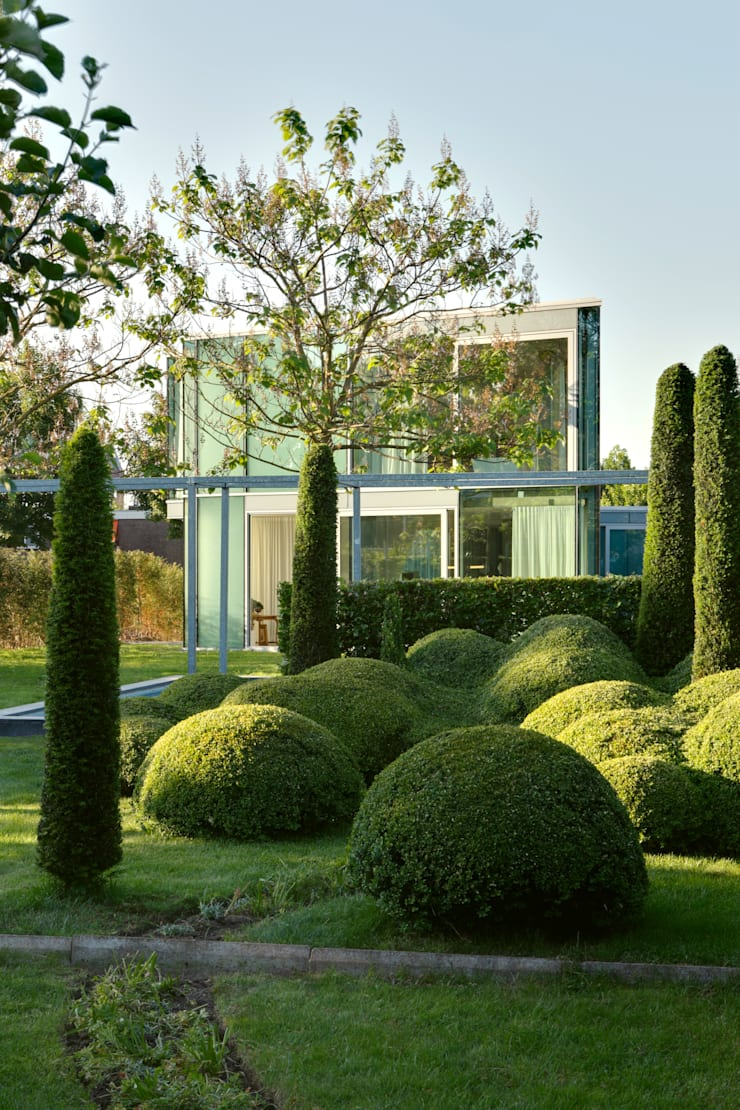 H' House:  Tuin door Wiel Arets Architects