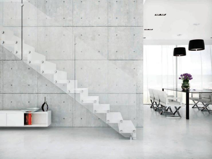 Прихожая, коридор и лестницы в . Автор – Rintal
