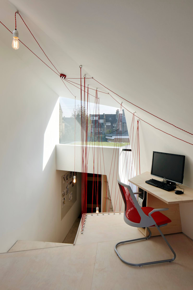 The Green Studio:  Study/office by Fraher Architects Ltd