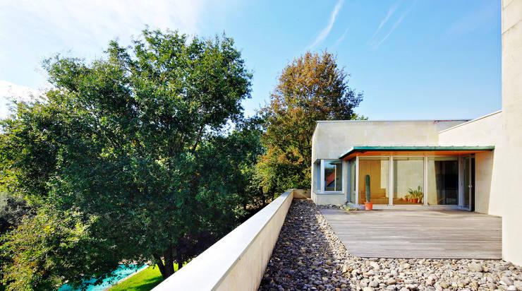 Casa en Mungia: Casas de estilo  de Hoz Fontan Arquitectos