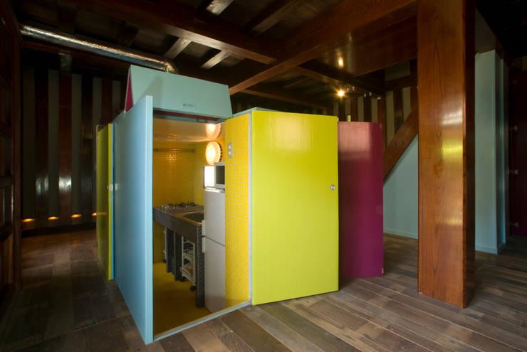 キッチン入口: O設計室が手掛けたです。