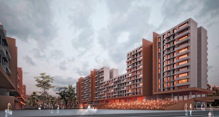 Kolektif Mimarlar Ltd. – Çanakkale Sosyal Konutlar Mevkii Kentsel Yenileme Projesi:  tarz