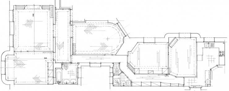 Phòng khách by Philippe Ponceblanc Architecte d'intérieur