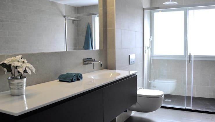 #reformaDUQUE: Baños de estilo  de +2